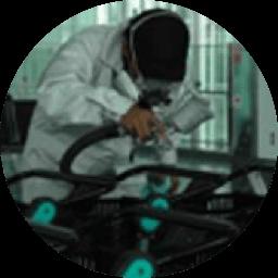 除菌清掃作業の流れのイメージ